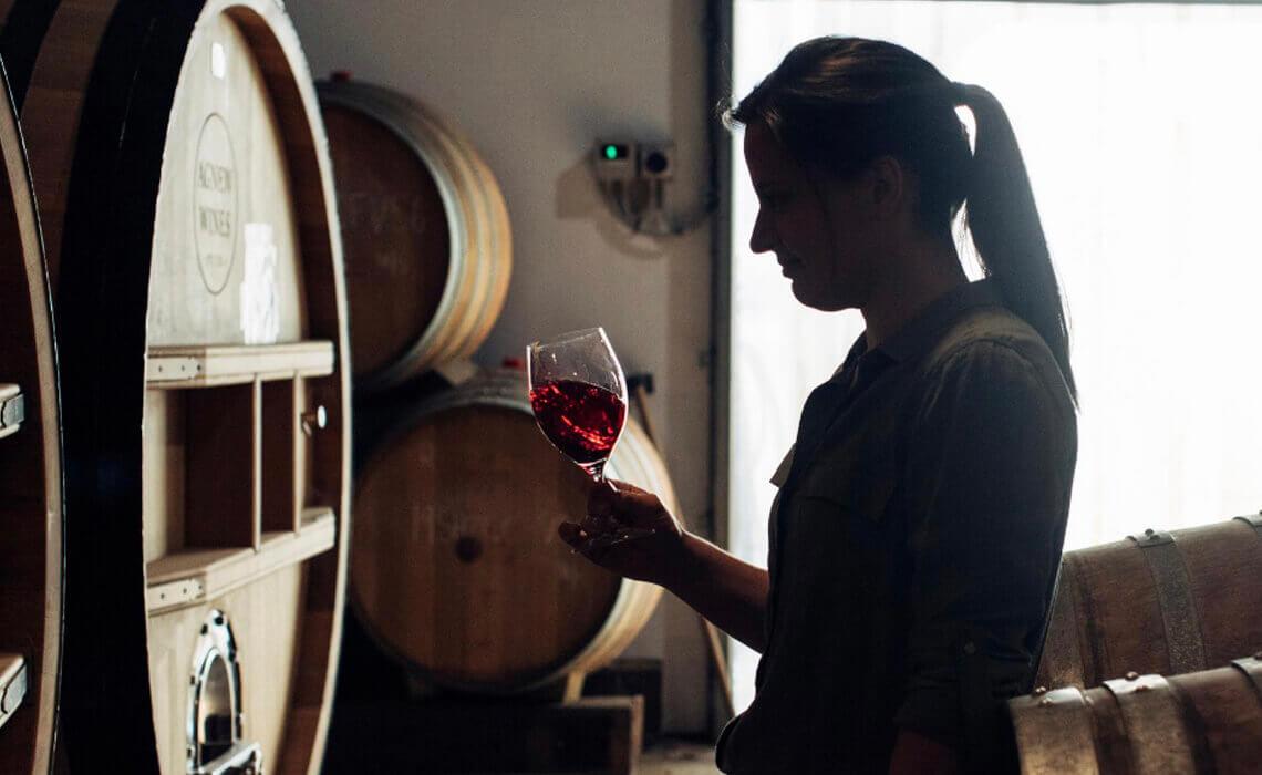 Xanthe Hatcher - winemaker at Audrey WIlkinson