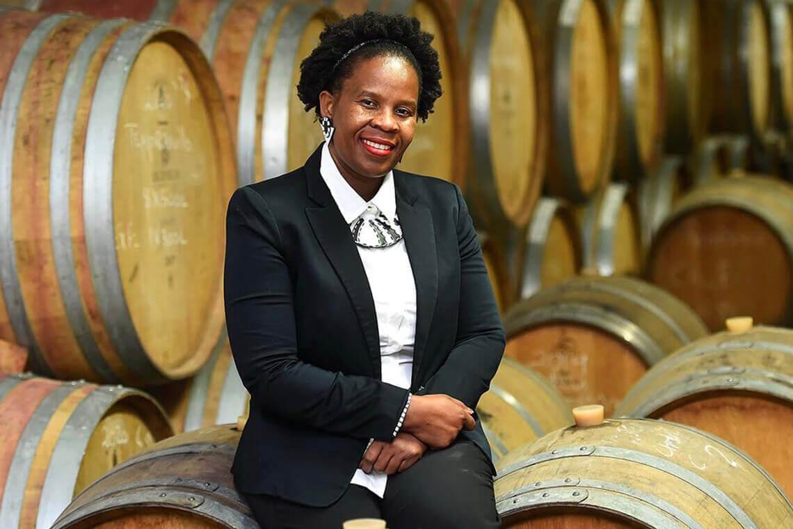 Ntsiki Biyela (photo courtesy of Aslina Wines)
