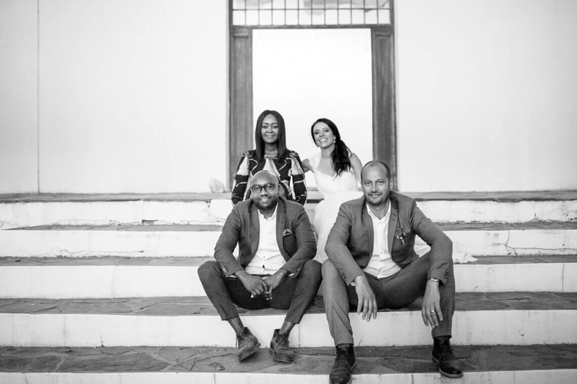 Co-owners of Paserene, Ndabe Mareda and Martin Smith (photo courtesy of Paserene)