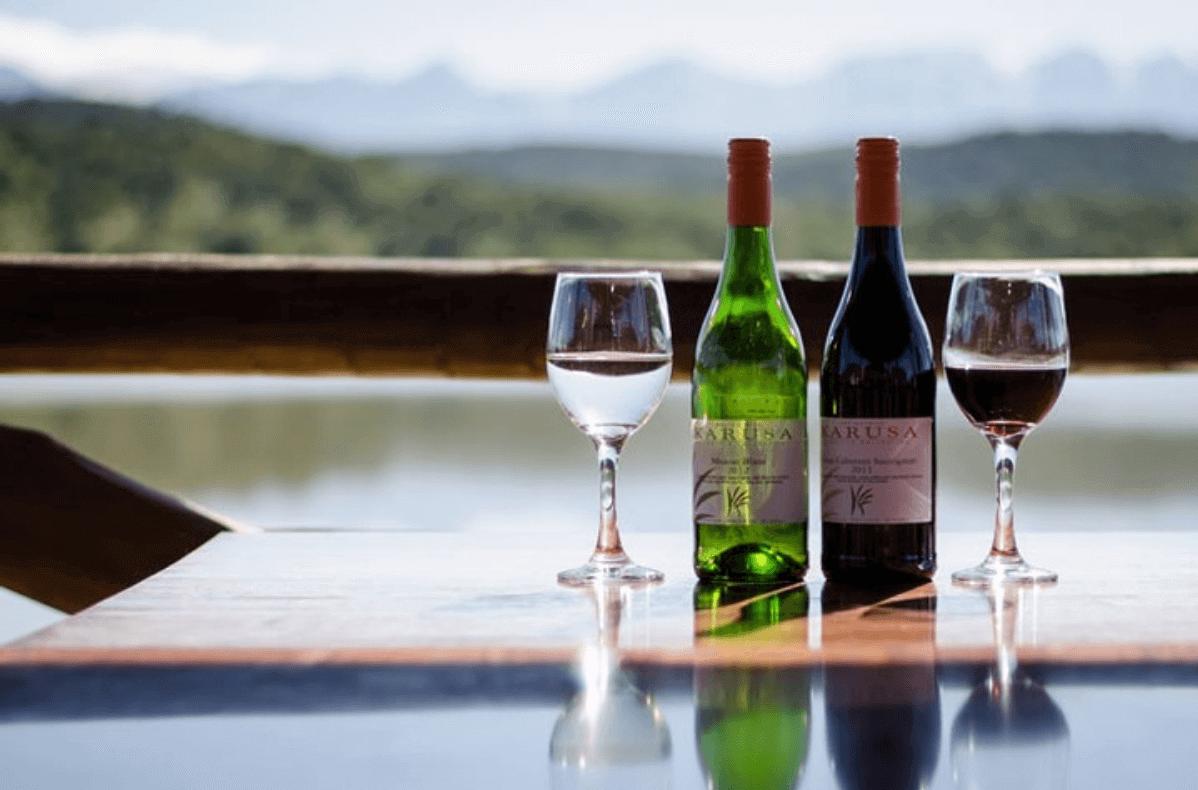 Local Karoo wines - Karusa