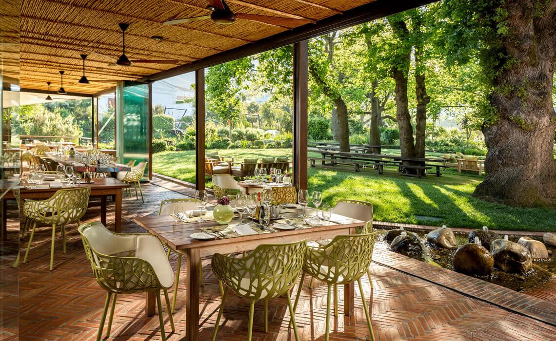 Pierneef restaurant at La Motte
