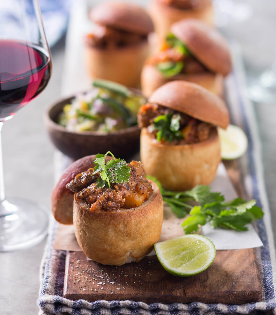 Lamb Bunny Chow from Leopard's Leap