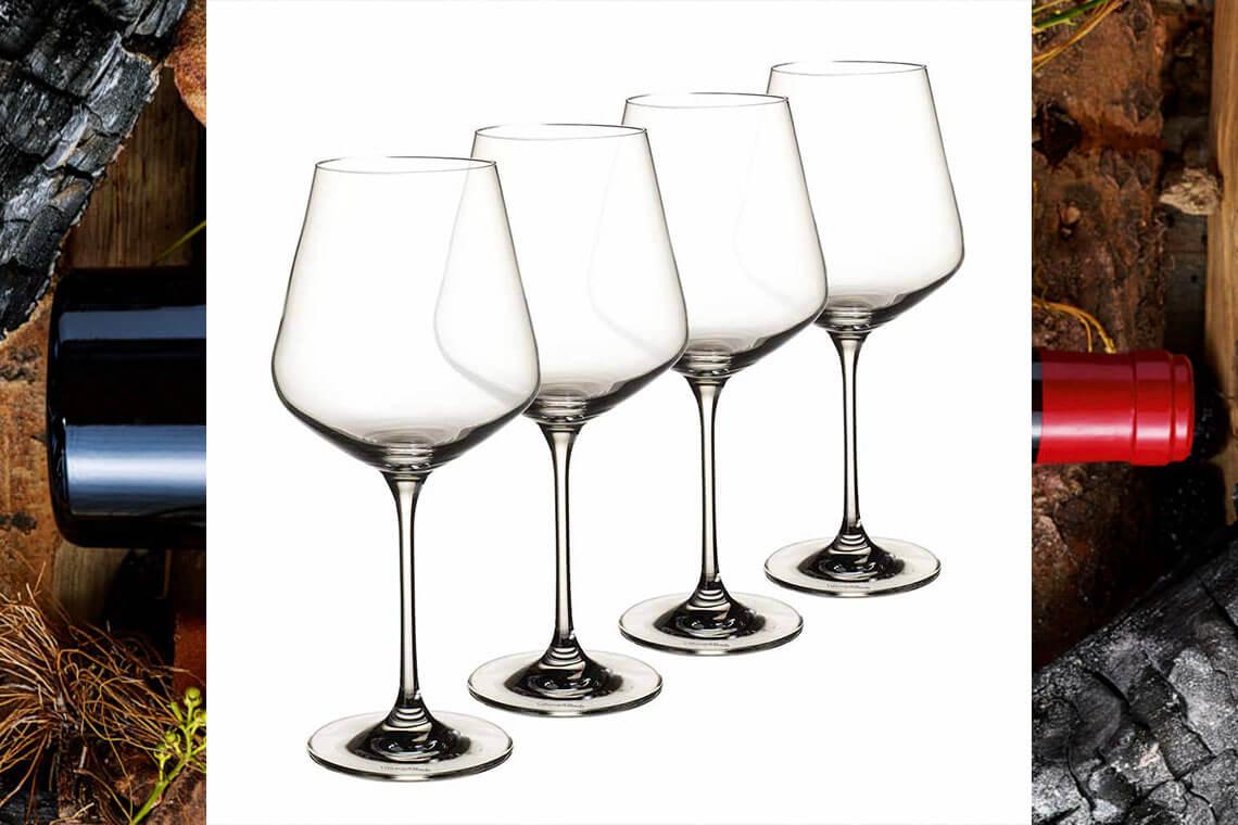 Sip & Read | Burgundy glasses