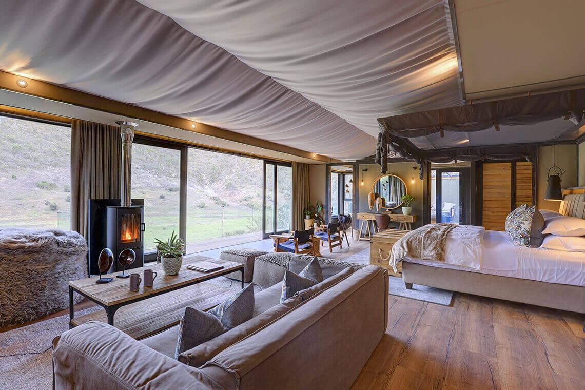 Sip & Read   Executive tented suite